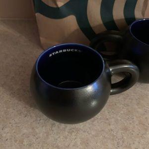 Starbucks  2- 12oz mugs